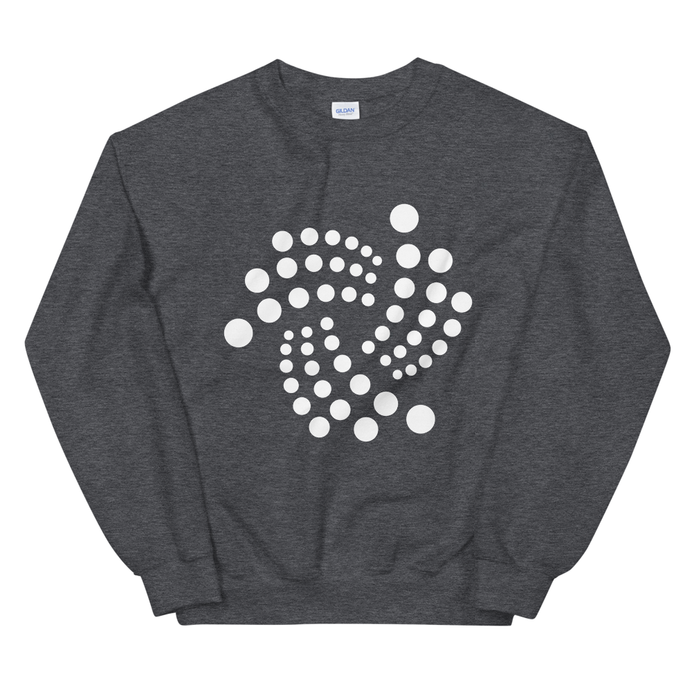 IOTA Sweatshirt Dark Heather S - zeroconfs