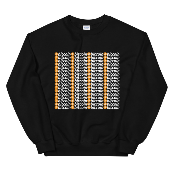 Bitcoins Sweatshirt Black S - zeroconfs