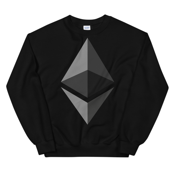 Ethereum Women's Sweatshirt Black S - zeroconfs