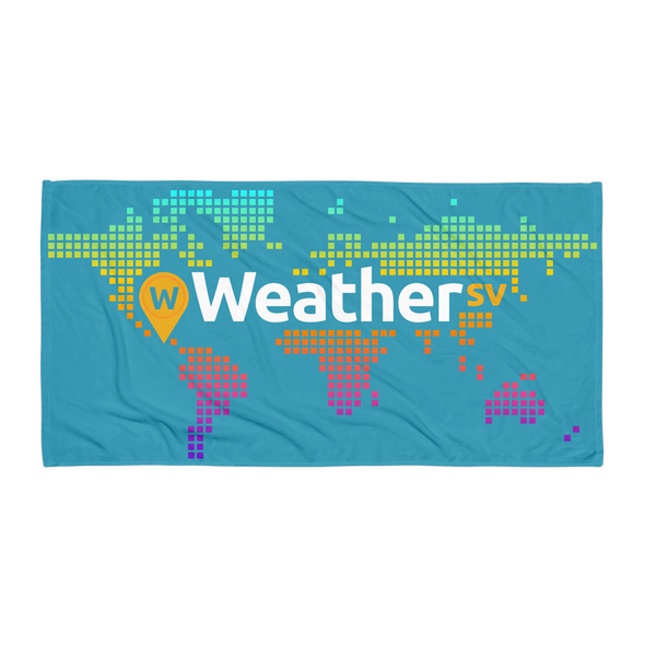 Weather SV Beach Towel Blue Default Title  - zeroconfs