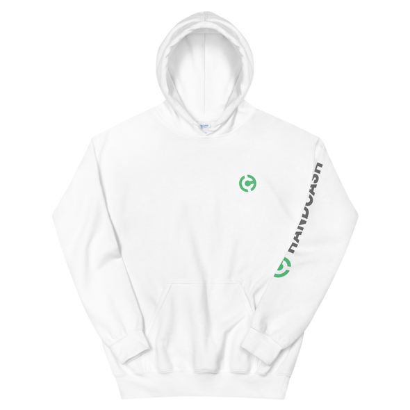 HandCash Official Licensed Women's Hooded Sweatshirt White S - zeroconfs