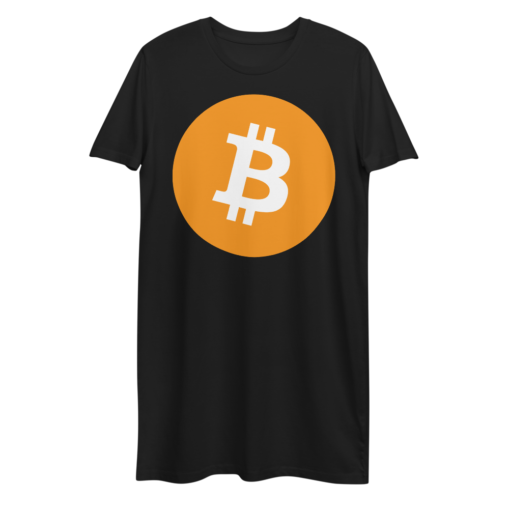 Bitcoin Core Premium T-Shirt Dress Black XS - zeroconfs
