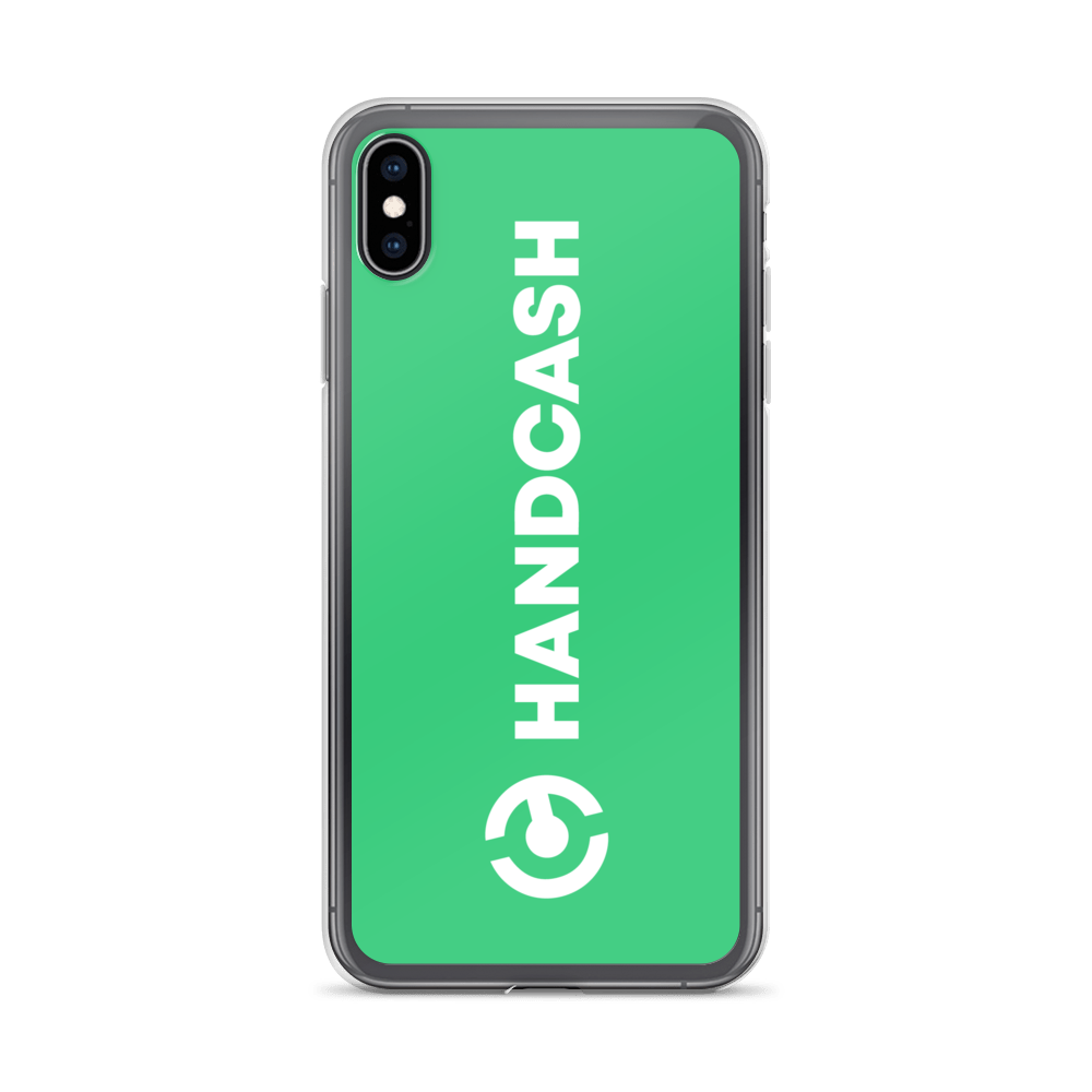 HandCash Official Licensed iPhone Case iPhone XS Max  - zeroconfs
