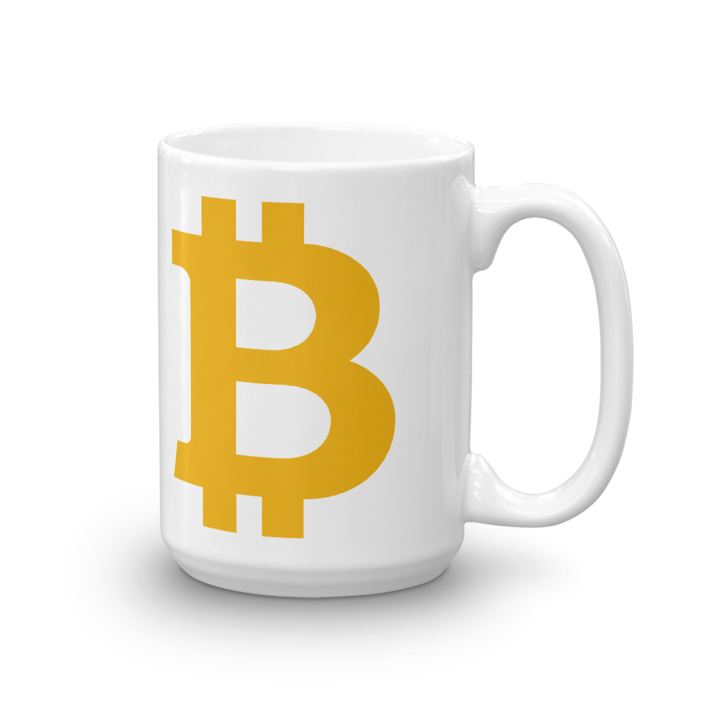 Bitcoin B Coffee Mug 15oz  - zeroconfs