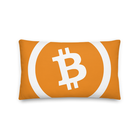 Bitcoin Cash Premium Pillow 20×12  - zeroconfs