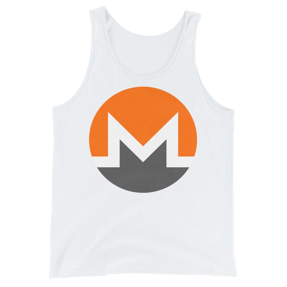 Monero Tank Top White XS - zeroconfs