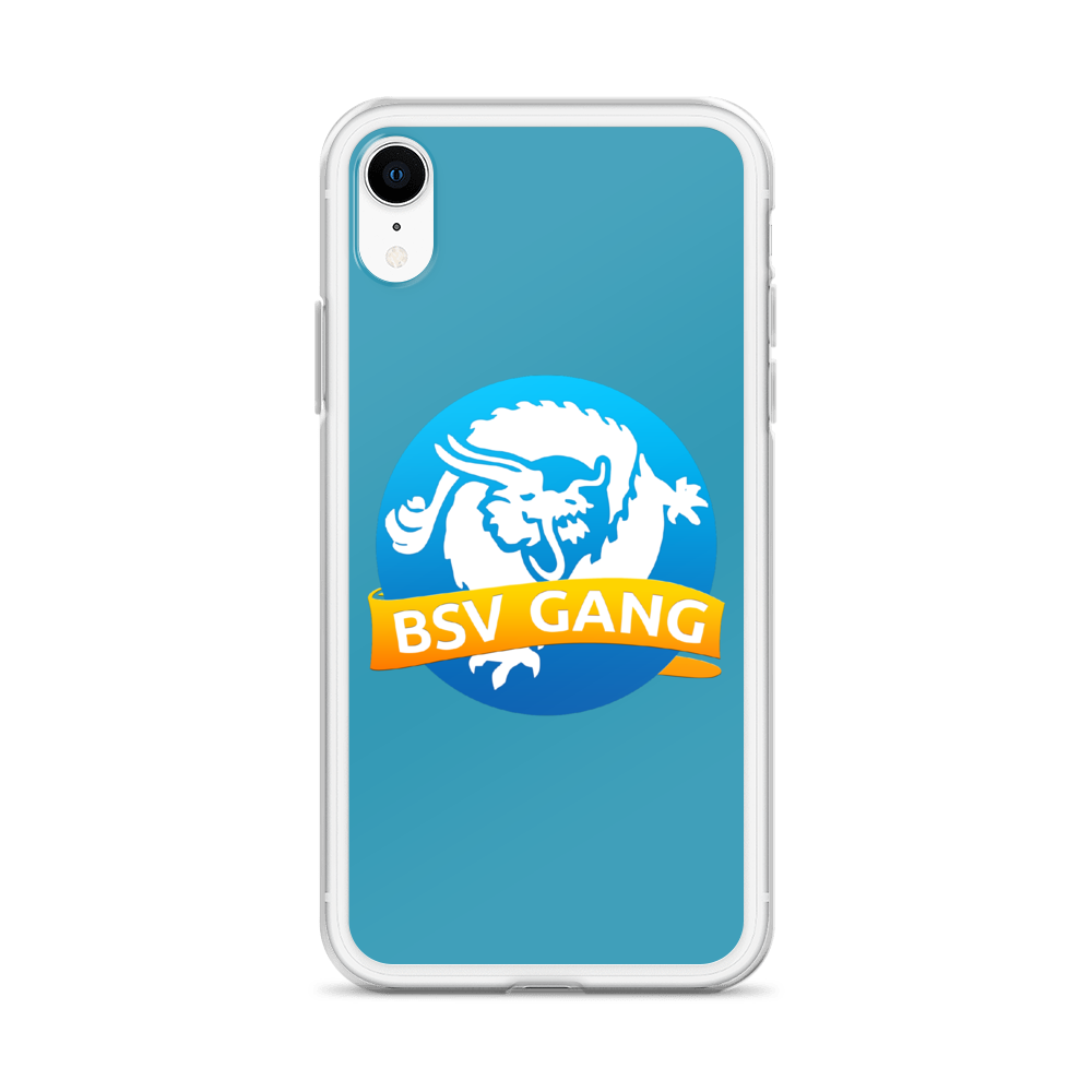 Bitcoin SV Gang iPhone Case Blue   - zeroconfs