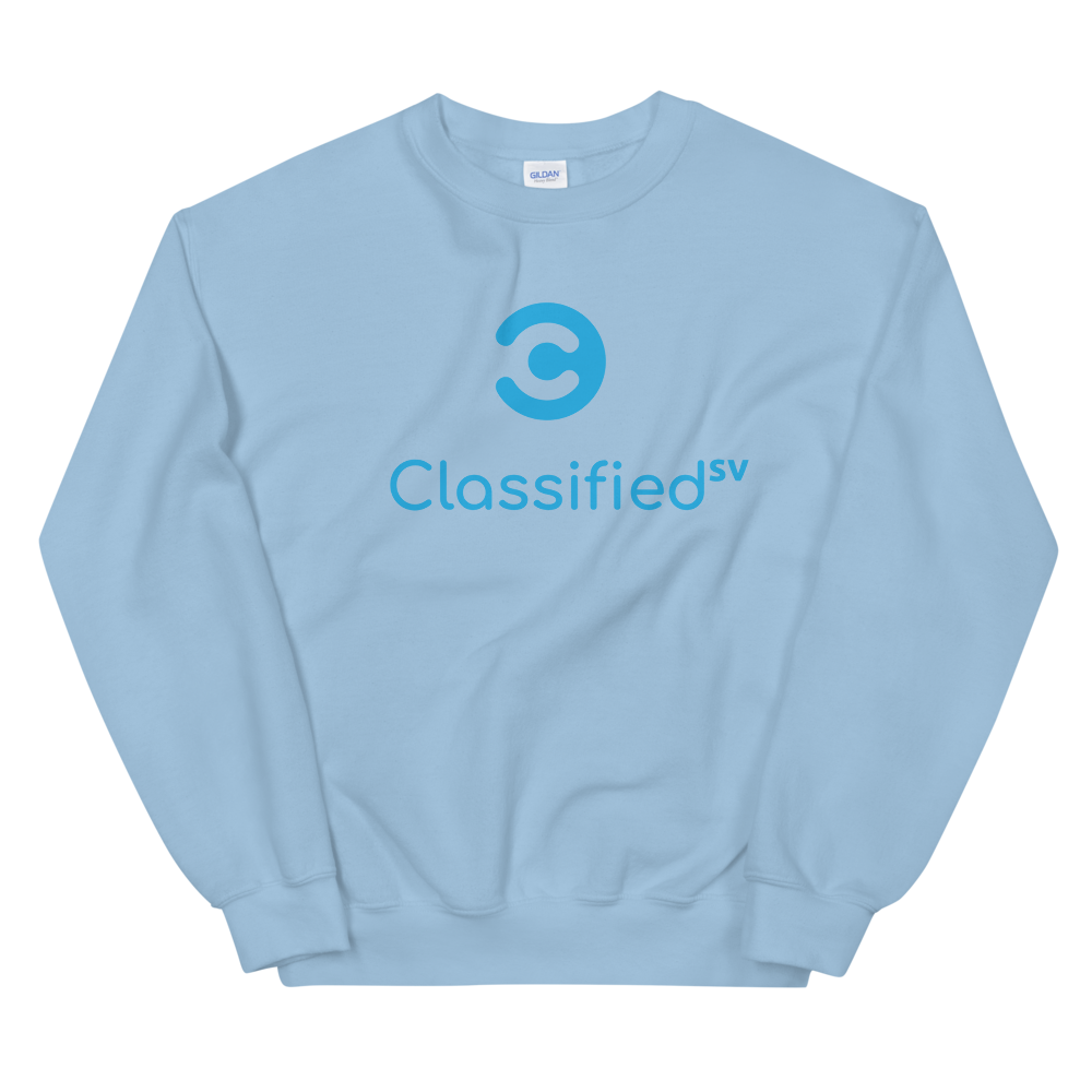 Classified SV Women's Sweatshirt Light Blue S - zeroconfs