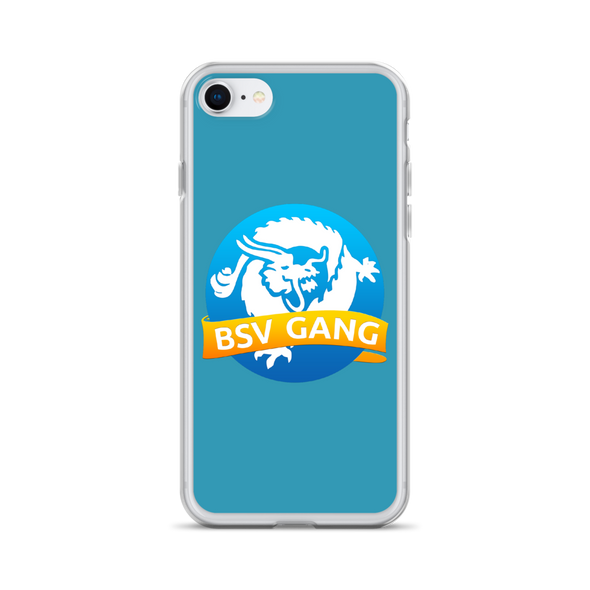 Bitcoin SV Gang iPhone Case Blue iPhone 7/8  - zeroconfs