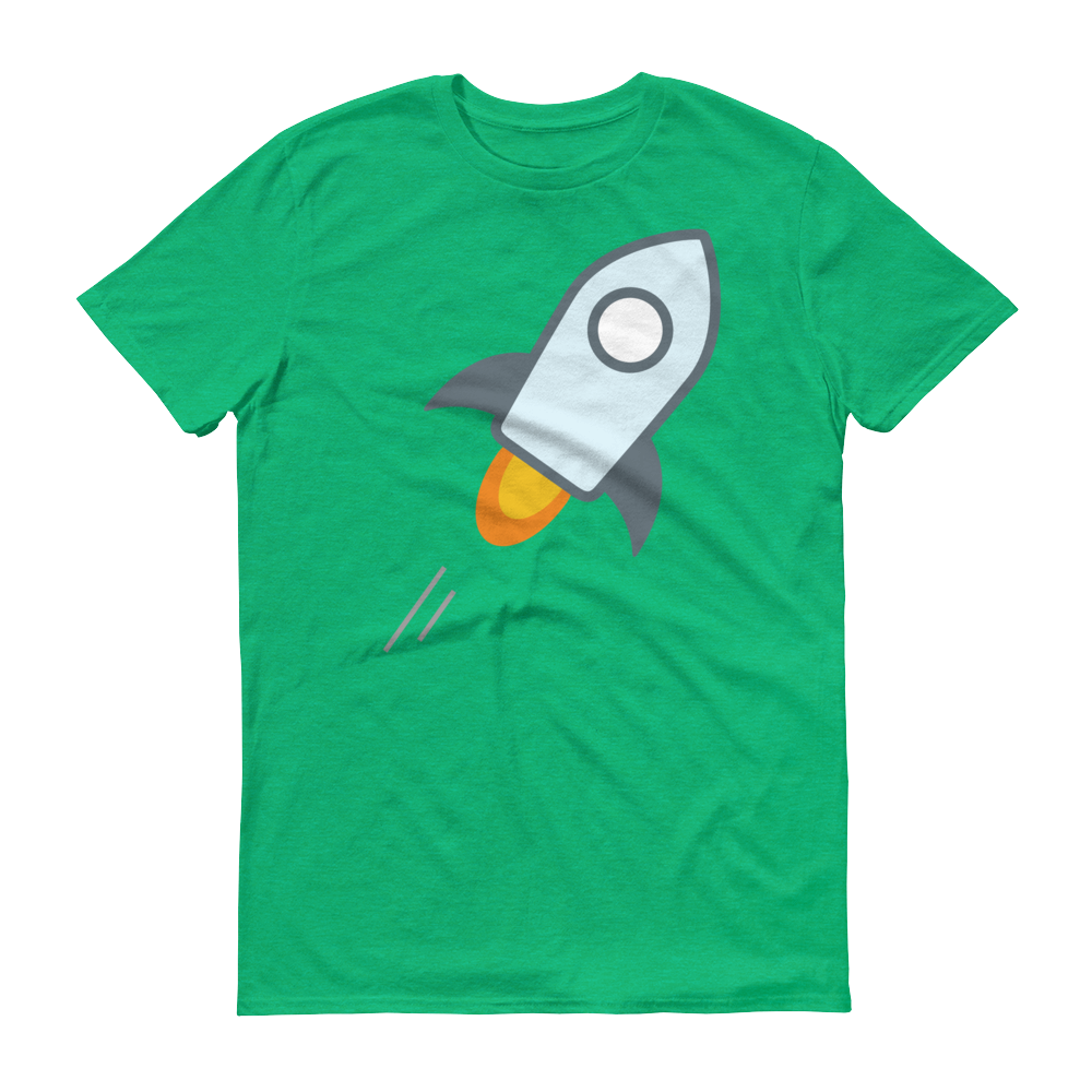 Stellar Short-Sleeve T-Shirt Heather Green S - zeroconfs