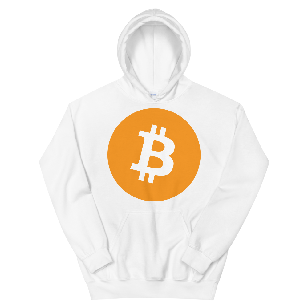 Bitcoin Core Hooded Sweatshirt White S - zeroconfs