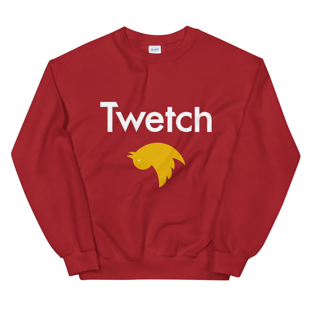 Twetch Women's Sweatshirt Red S - zeroconfs