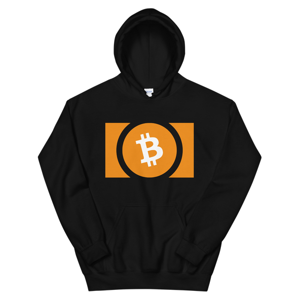 Bitcoin Cash Hooded Sweatshirt Black S - zeroconfs