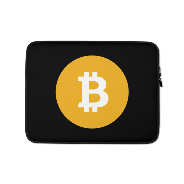 Bitcoin SV Logo Laptop Sleeve 13 in  - zeroconfs