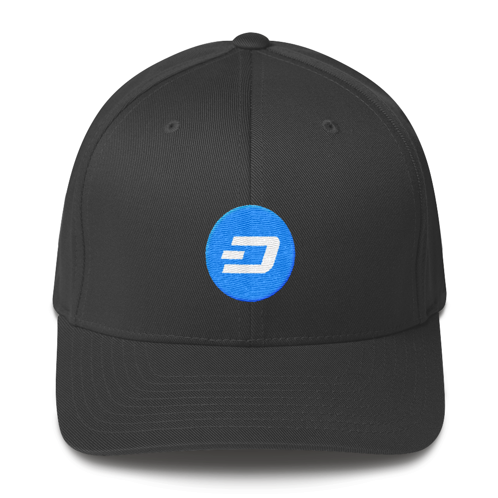 Dash Flexfit Cap Dark Grey S/M - zeroconfs