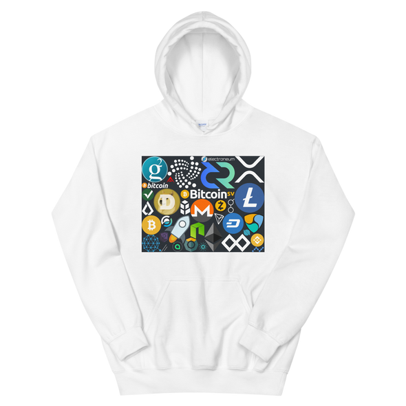 Crypto Calling Women's Hooded Sweatshirt White S - zeroconfs