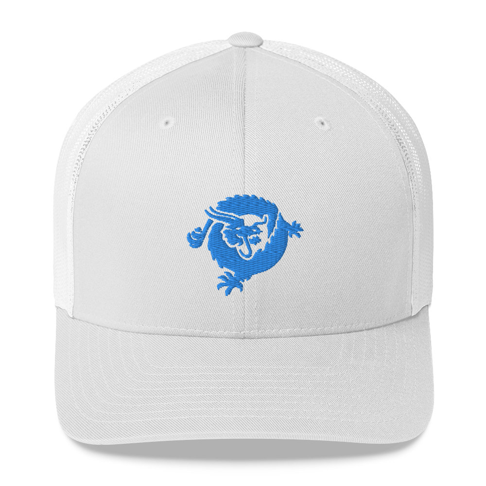 Bitcoin SV Dragon Trucker Cap Blue White  - zeroconfs
