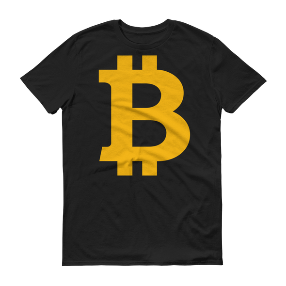 Bitcoin B Short-Sleeve T-Shirt Black S - zeroconfs