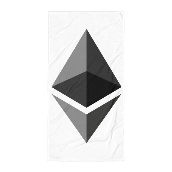 Ethereum Beach Towel Default Title  - zeroconfs