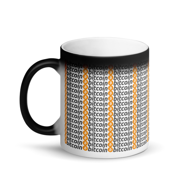 Bitcoins Magic Mug   - zeroconfs