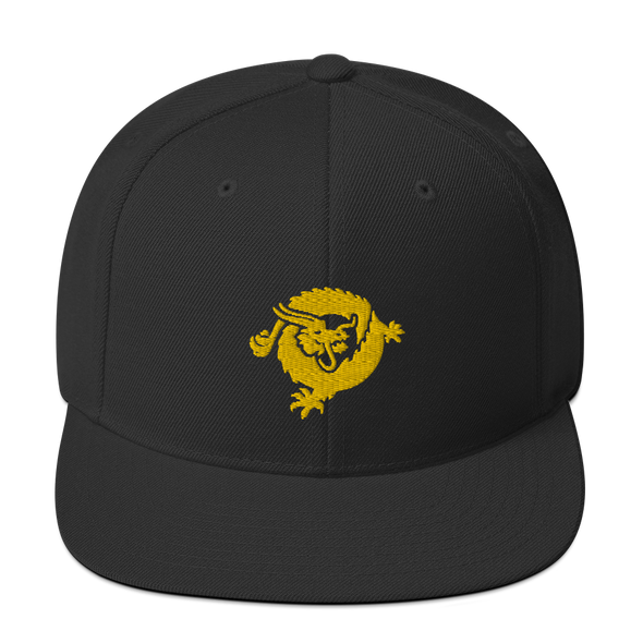 Bitcoin SV Dragon Snapback Hat Gold Black  - zeroconfs
