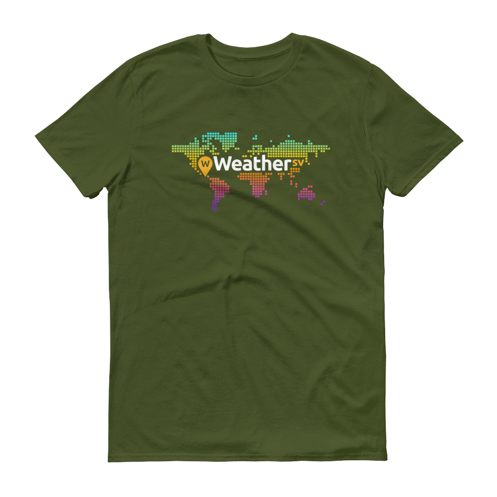 Weather SV Short-Sleeve T-Shirt City Green S - zeroconfs
