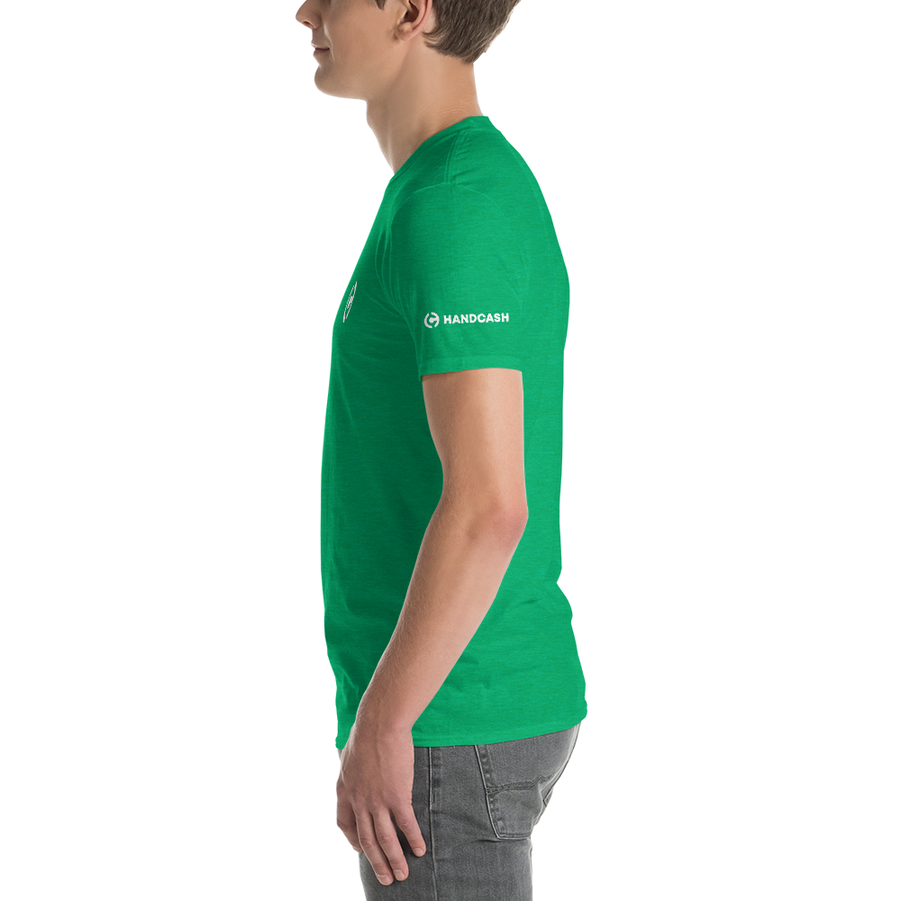 HandCash Official Licensed Short-Sleeve T-Shirt   - zeroconfs