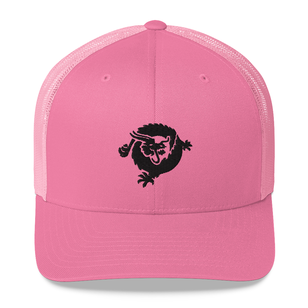 Bitcoin SV Dragon Trucker Cap Black Pink  - zeroconfs