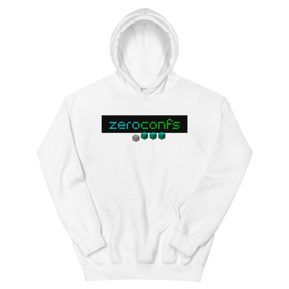 Zeroconfs.com Women's Hooded Sweatshirt White S - zeroconfs