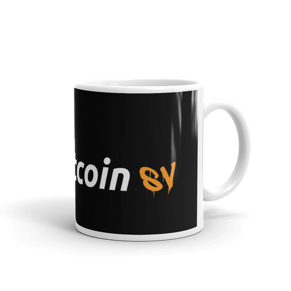 Try Bitcoin SV Coffee Mug 11oz  - zeroconfs