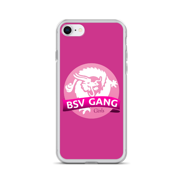 Bitcoin SV Gang Girls iPhone Case Pink iPhone 7/8  - zeroconfs