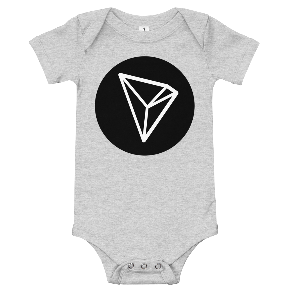 Tron Baby Bodysuit Athletic Heather 3-6m - zeroconfs