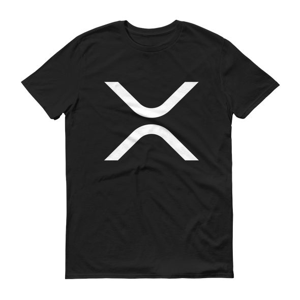 Ripple Short-Sleeve T-Shirt Black S - zeroconfs