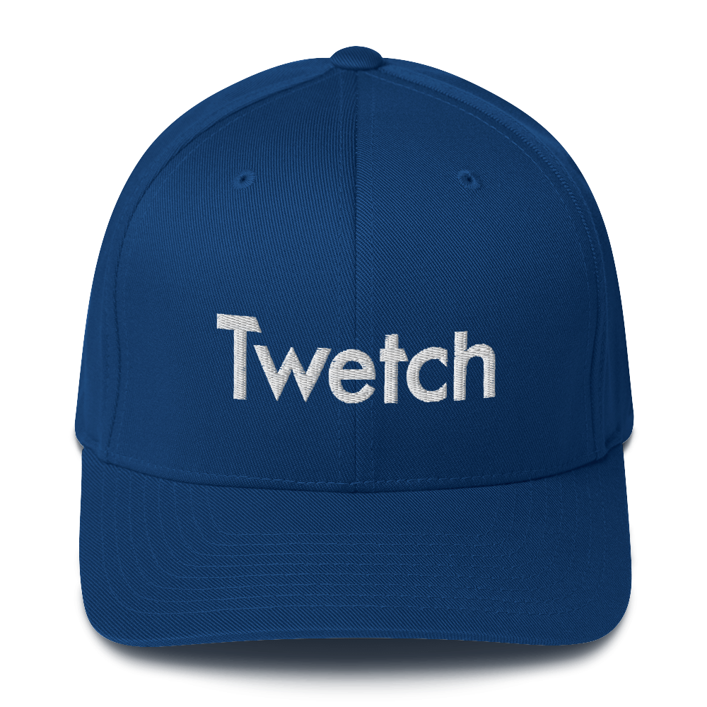 Twetch Flexfit Cap Royal Blue S/M - zeroconfs