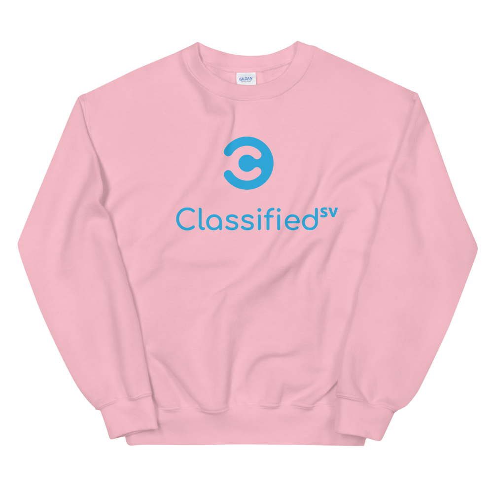 Classified SV Women's Sweatshirt Light Pink S - zeroconfs