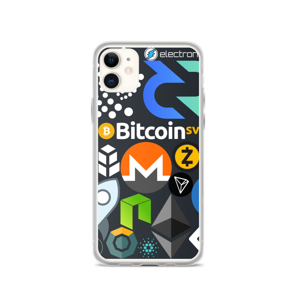 Crypto Calling iPhone Case iPhone 11  - zeroconfs