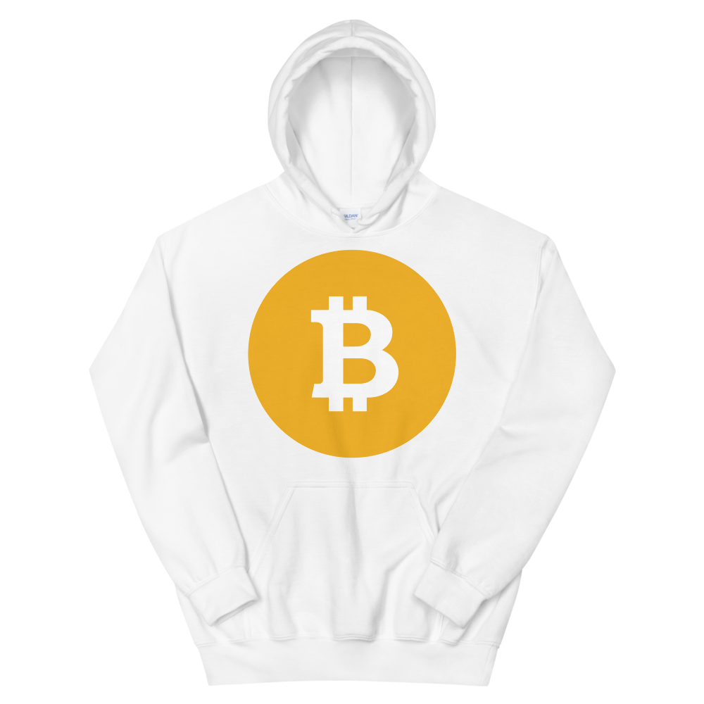 Bitcoin SV Logo Women's Hooded Sweatshirt White S - zeroconfs