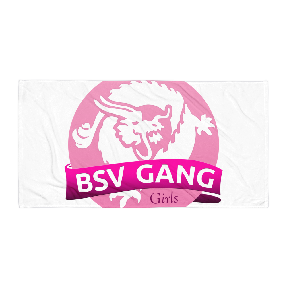 Bitcoin SV Gang Girls Beach Towel Default Title  - zeroconfs