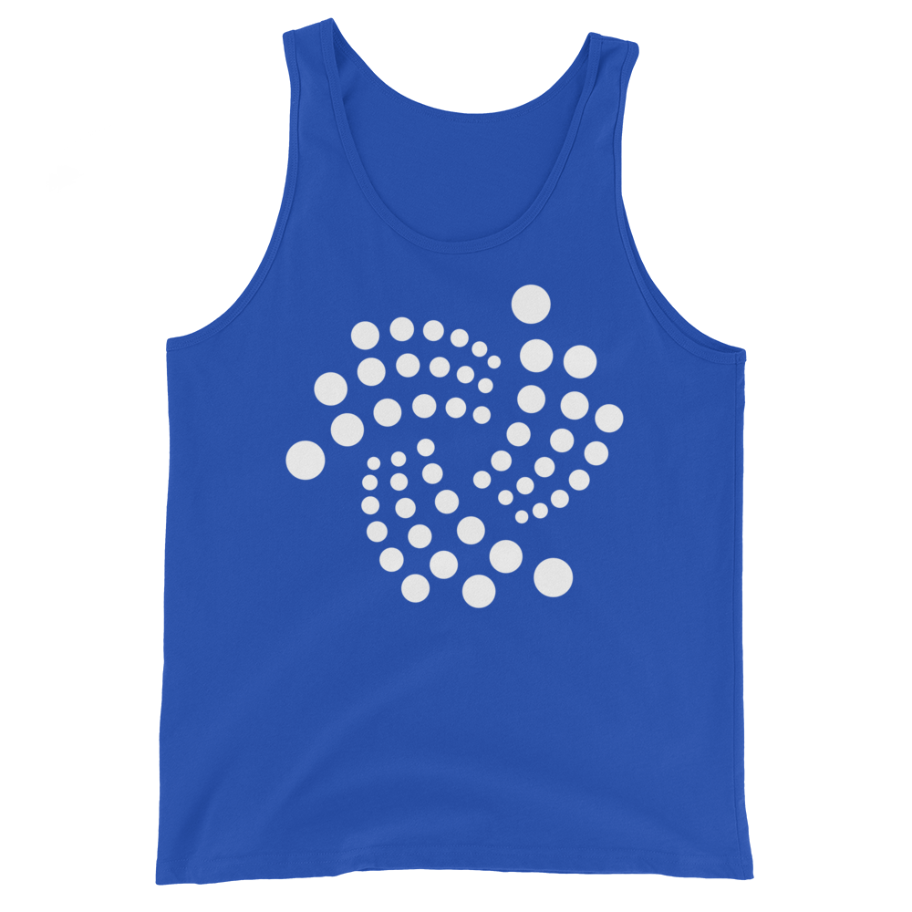IOTA Tank Top True Royal XS - zeroconfs