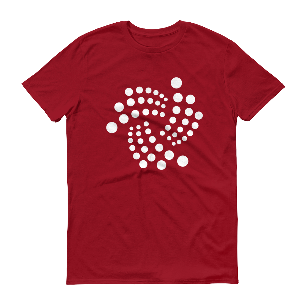 IOTA Short-Sleeve T-Shirt Independence Red S - zeroconfs