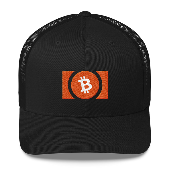 Bitcoin Cash Trucker Cap Black  - zeroconfs