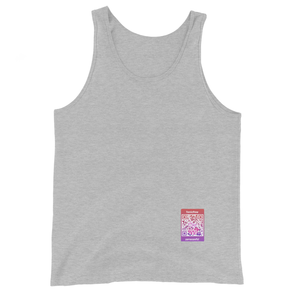 TonicPow Official Customizable Tank Top Athletic Heather XS - zeroconfs