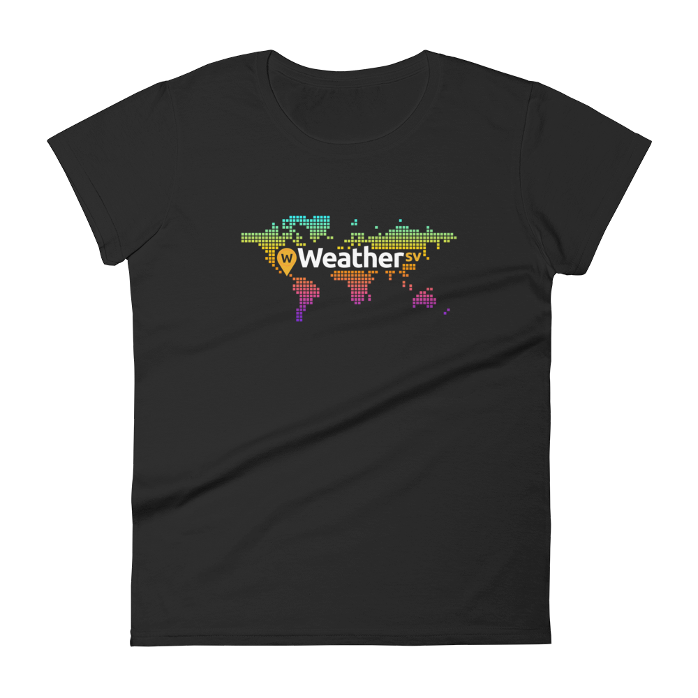 Weather SV Women's T-Shirt Black S - zeroconfs