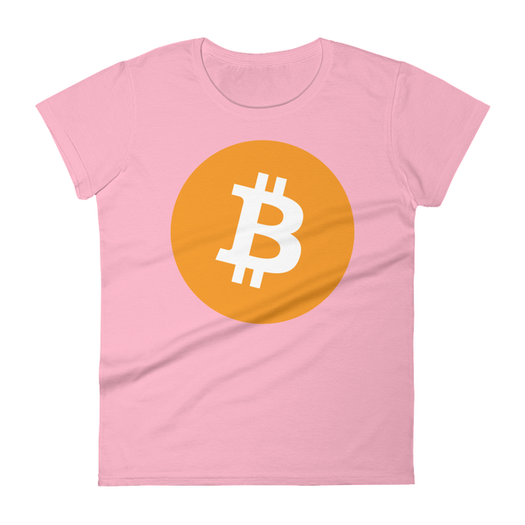 Bitcoin Core Women's T-Shirt Charity Pink S - zeroconfs