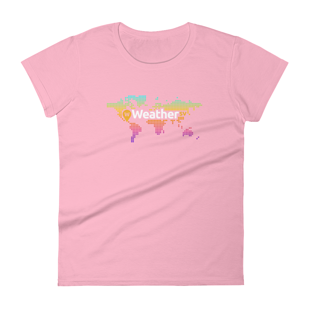 Weather SV Women's T-Shirt Charity Pink S - zeroconfs