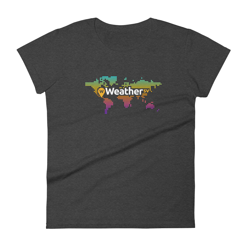 Weather SV Women's T-Shirt Heather Dark Grey S - zeroconfs