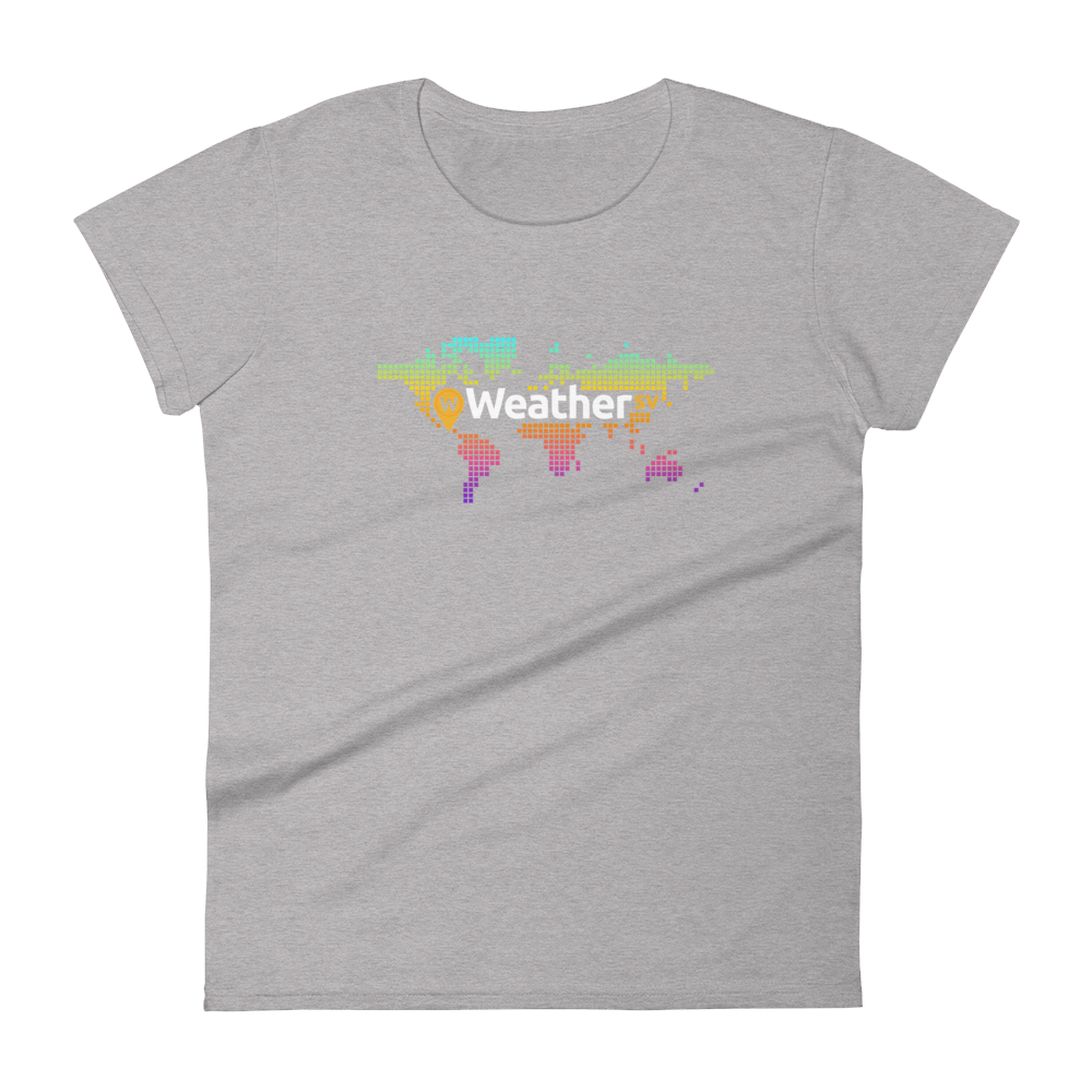 Weather SV Women's T-Shirt Heather Grey S - zeroconfs