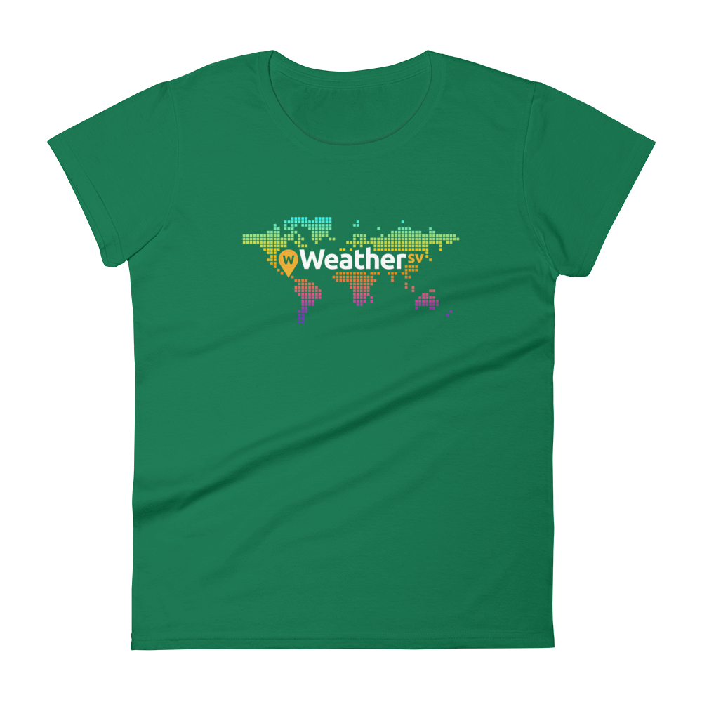 Weather SV Women's T-Shirt Kelly Green S - zeroconfs
