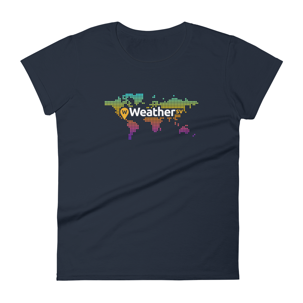 Weather SV Women's T-Shirt Navy S - zeroconfs