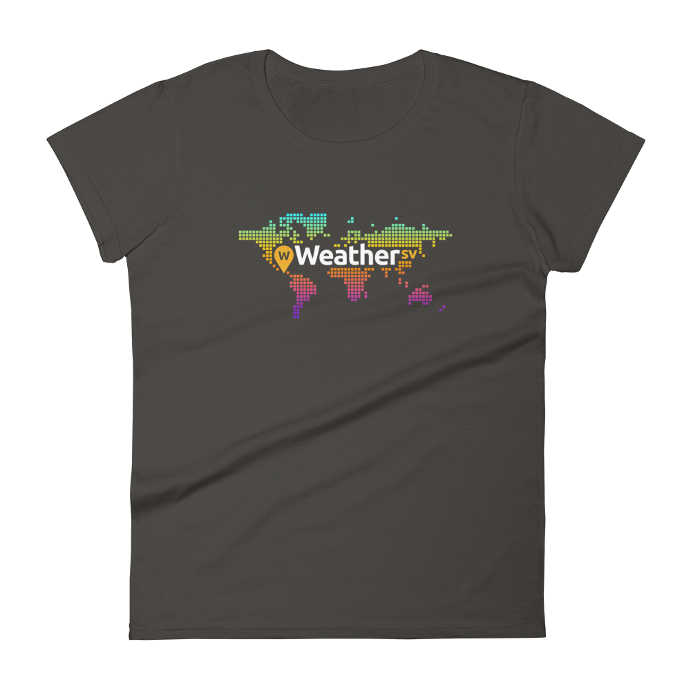 Weather SV Women's T-Shirt Smoke S - zeroconfs